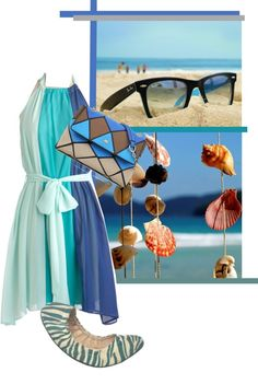 """""""sea shells"""" by airora ❤ liked on Polyvore"""