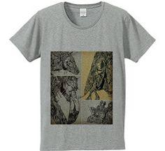 アニマルズ : TCP [フライスTシャツ] - デザインTシャツマーケット/Hoimi(ホイミ)
