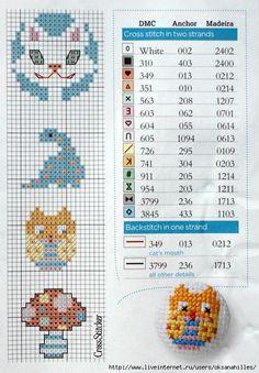 Botones punto de cruz patrón patrones / cross stitch patterns for buttons