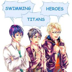 Free! / Attack on Titan / Hetalia ~~ You know you love them all!