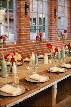 paint bottles for vases