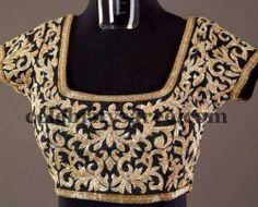 Sequin black sari saree blouse visit for similar designer blouse at: https://www.etsy.com/shop/JiyaGotaZariLace?section_id=16402837&ref=shopsection_leftnav_2