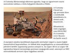 A Curiosity (Kíváncsiság) sikeresen igazolta, hogy az úgynevezett marsi meteoritok valóban a vörös bolygóról érkeztek a Földre.