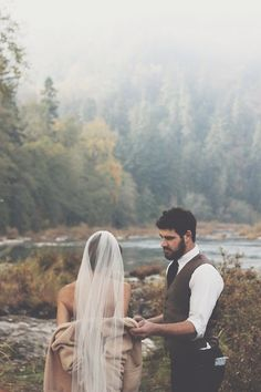 Another shot from the post-wedding photos.Dapper, clean and handsome, the incredible duoSarah and James behind Jewish Lumberjack. A...