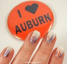 Auburn Waterfall Manicure