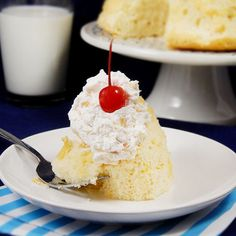 Hawaiian Fluff Topping – Let's dust off the turntables and put on our poodle skirts. We're taking another trip back in time. Last week we sampled a vintage Chiffon Cake recipe.&nb…