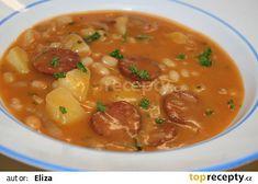 Výborná fazolová polévka recept - TopRecepty.cz