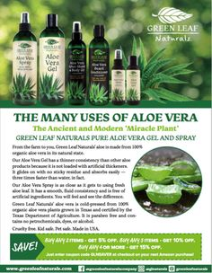 Green Leaf Naturals Free E-Books Modern Miracles, Green Leaves, Aloe Vera, Pure Products, Education, Books, Nature, Plants, Free