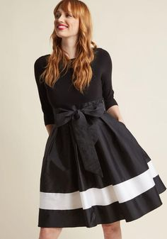 #ModCloth - #Adrianna Papell Adrianna Papell World-Classy Fit and Flare Dress in 12 - AdoreWe.com