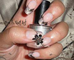 Elegant Holographic Nails