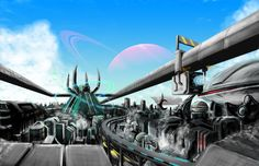 A city on another planet - Peerapong Pitapan