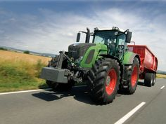 New Fendt 939 Vario Tractor with SCR Technology