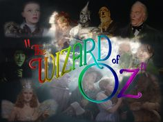 *THE WIZARD of OZ.....75th Anniversary Collage/Wallpaper by scottie1189