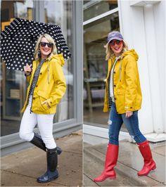 Five Ways | Yellow Rain Jacket