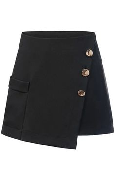 Shop Women's Shorts Online to Keep Stylish Cute Skirt Outfits, Crop Top Outfits, Cute Skirts, Pretty Outfits, A Line Shorts, Loose Shorts, Black Shorts, Kpop Fashion Outfits, Womens Fashion