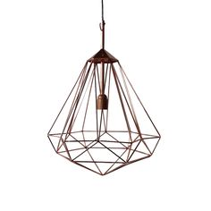 Diamond Lamp - Copper  - Medium from Pols Potten