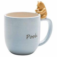 Enjoy Coffee With Friends. Timeless Winnie the Pooh character comes to life with this high quality unique piece. Figurine is hand painted. Great gift-giving item.