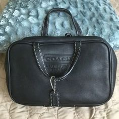 Coach Handbags - Authentic Coach make up travel bagFIRM