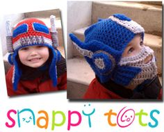 Crochet Pattern For Optimus Prime Hat : 1000+ images about Optimus prime hat images on Pinterest ...