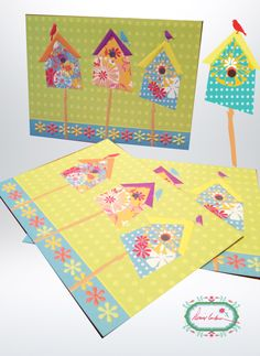 Birdhouses, Pot Holders, Greeting Cards, Quilts, Blanket, Hot Pads, Potholders, Quilt Sets, Bird Houses