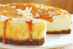 Fresh Ginger Cheesecake recipe