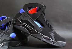 """Nike Huarache """"OG Black"""" Release Info   SneakerNews.com.... If you are too young to remember these, do your research. Fab Five in the building!!!!"""