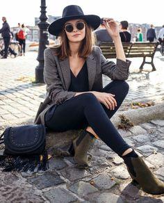 15 Tweed Blazer Styles You Must Love