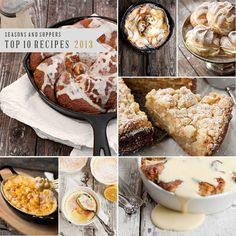 Seasons and Supper's Top 10 Recipes of 2013