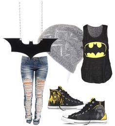 Batman outfit for fangirls and nerds find more women fashion ideas on www.misspool.com