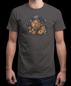 """""""RPG United"""" is today's £8/€10/$12 tee for 24 hours only on www.Qwertee.com Pin this for a chance to win a FREE TEE this weekend. Follow us on pinterest.com/qwertee for a second! Thanks:)"""