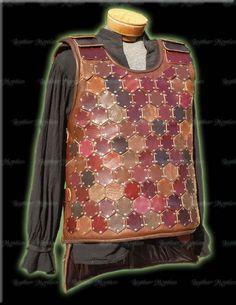 $595 SCA fantasy cosplay leather armor by LeatherMystics.com