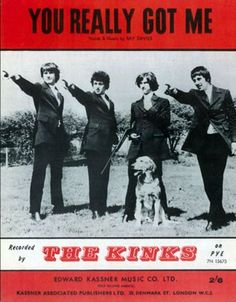 Another one nof mine with out a cover.... 1964 The Kinks Band, You Really Got Me
