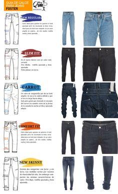 Guiam Calce Jeans:A continuación les propongo una clasificación de uso, que puede orientarlos para jugar con sus jeans en distintas ocasiones: