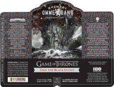 Ommegang Take The Black Stout – Next Game of Thrones Beer On Deck