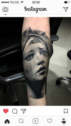 Virgen de los siete Dolores. Virgen Dolorosa. Tattoo by Gray RX.