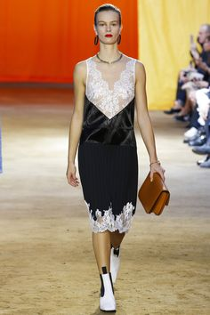 Céline Spring 2016 Ready-to-Wear Fashion Show - Josephine Kleinendorst