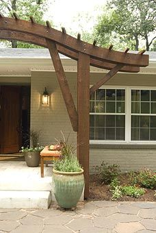Front Door Awning Ideas On Pinterest Window Awnings