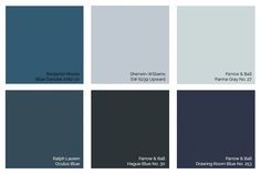 Designer-Tested Palettes: Beautiful Blues by Consort Design