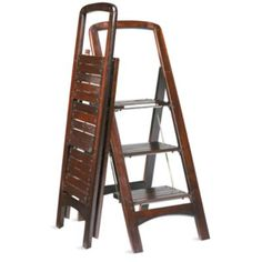 Wooden Stepladder - Grandin Road