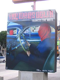 The Mars Volta - Frances the Mute (one of the best albums ever!why have i never seen this giant neon ad before, and what junk heap is it sitting in so i can go restore it for myself? The Mars Volta, Best Albums, Restore, Restoration, My Arts, Neon, Ads, France, Music