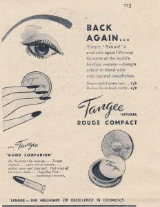 Vintage Tangee Rouge Advert