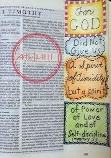 Artsy Faith Timothy Bible, 1 Timothy, Bible Study Journal, Art Journaling, Journal Art, Scripture Art, Bible Art, Bible Love, Faith Bible