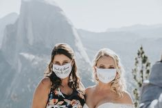 These personalized face mask wedding favors are one of our WeddingWire editors' top picks. WeddingWire has tons of wedding favor recommendations at all price points. Click for more wedding favor ideas. Planning your wedding has never been so easy (or fun!)! WeddingWire has tons of wedding ideas, advice, wedding themes, inspiration, wedding photos and more. {Kate Michelle Photography}