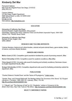 Template For Curriculum Vitae Academic Cv Template Curriculum Vitae Academic Cvs Student