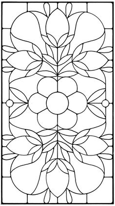 Floral Stained Glass Pattern Book                                                                                                                                                     More