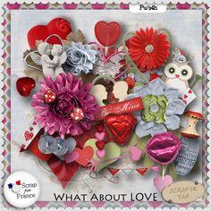 Kit What about love ? by Scrap de Yas