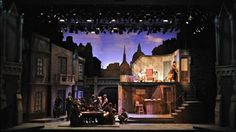 John Burgess Sets - Scenic Design - Sweeney Todd IT'S SO BEAUTIFUL.