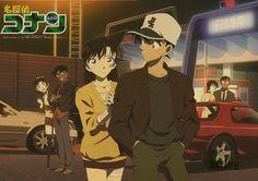 Ran Mouri and Shinichi Kudo