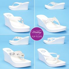 Wedding Flip Flops from My Glass Slipper - Belle the Magazine . The Wedding Blog For The Sophisticated Bride