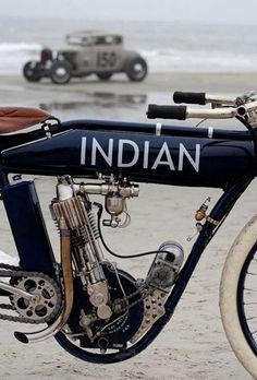 Indian board track racer.